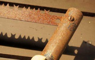 rusty tool